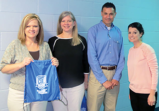 Shepherd High School Career and Technical teachers are Lisa Courvelle, India Peden, Robert Peden and Holly Harrison.